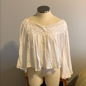 NWT WHOTE COTTON TOP